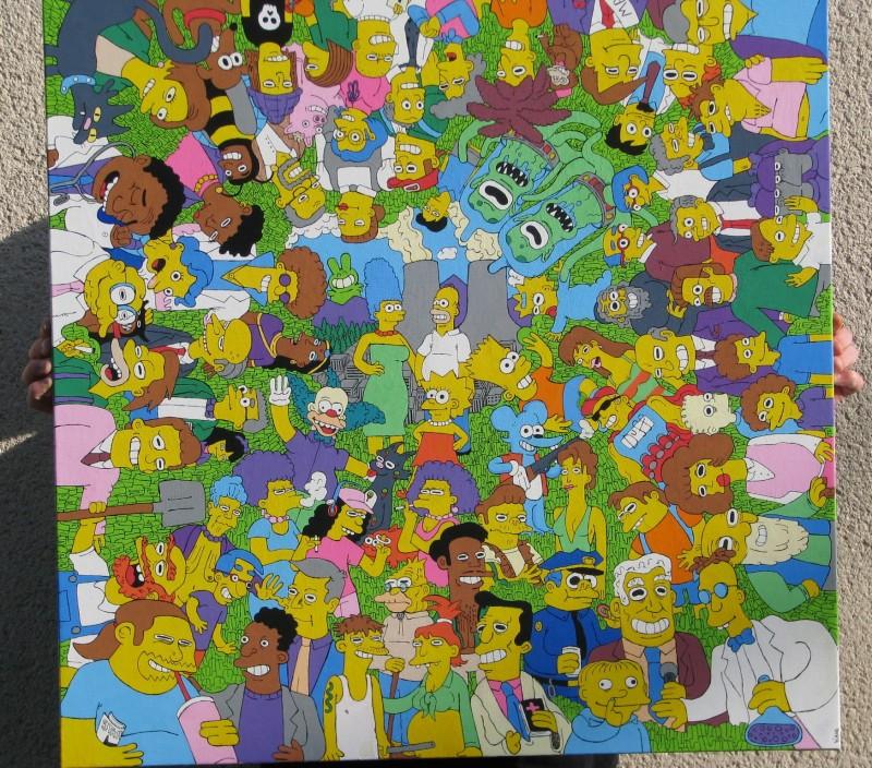 My tribute to the Matt Groening